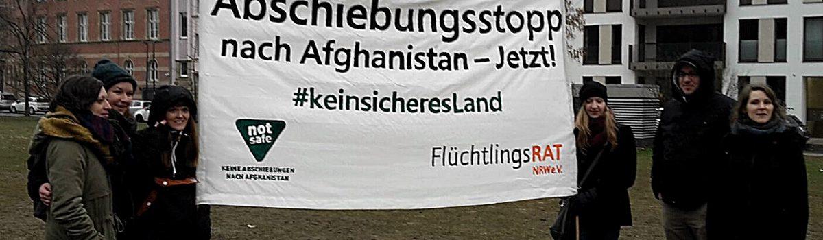 Demo gegen Abschiebung nach Afghanistan