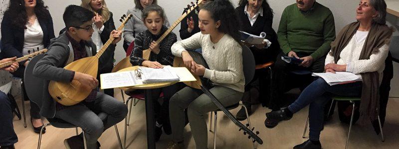 Feier ein Jahr Bleichpfad Räume Flüchtlingsrat Krefeld