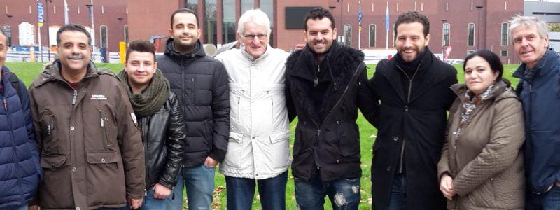 Einfach nur reden in Bochum 2017 Flüchtlingsrat Krefeld