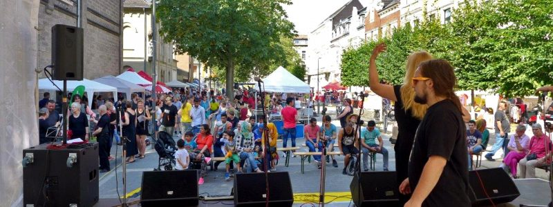11. Krefelder Fest ohne Grenzen Corneliusplatz