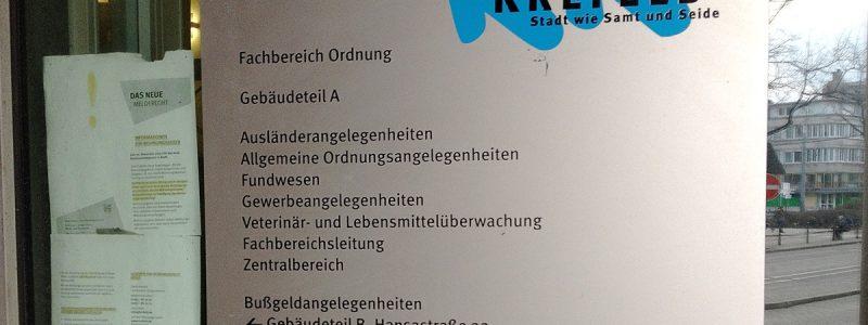 Ausländerbehörde Krefeld